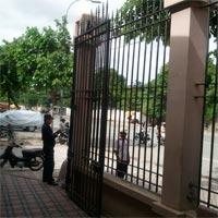 カンボジアタイ大使館柵