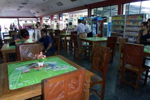 チェンマイ駅食堂