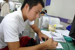 チェンマイの病院の診察2