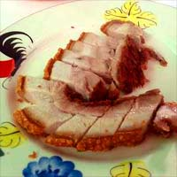 豚の脂肪と肉がトロケ合い
