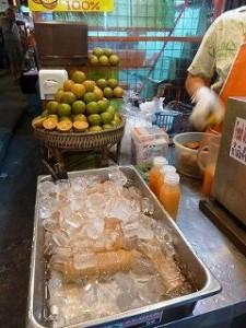手作りオレンジジュース3