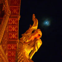 夜のワット・プラ・シン2