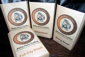 アカアマコーヒー特製豆