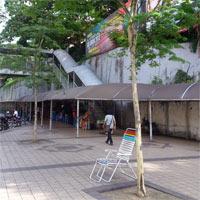 マスジャメック(Masjid Jamek)駅