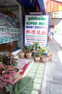 SUPER RICH MONEY EXCHANGE(Ratchadamnnern Rd.)