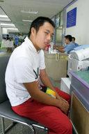 チェンマイの病院の診察