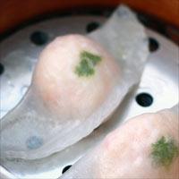 海老水餃子