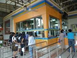 NACHONCHAI AIRチケット売り場