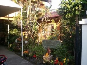 オン先生のマッサージスクール庭園