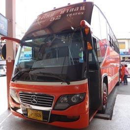 チェンダオ行きバス