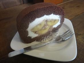 レンディーデザイン バナナチョコレートケーキ